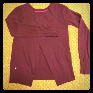 lululemon open-back sweater
